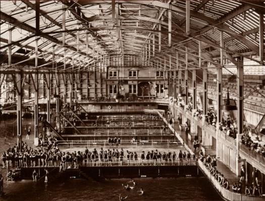 The Sutro Baths in its glory days.