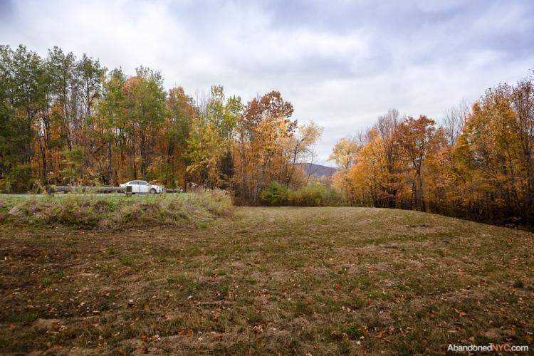 At the base of Mount Greylock.