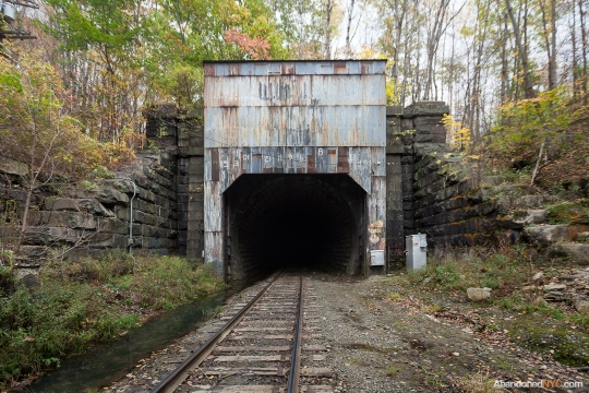 The entrance to the Hoosac Tunnel