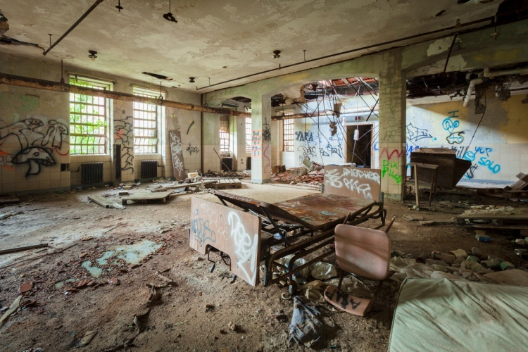 Kings Park Psychiatric Centers Building 93 Abandonednyc