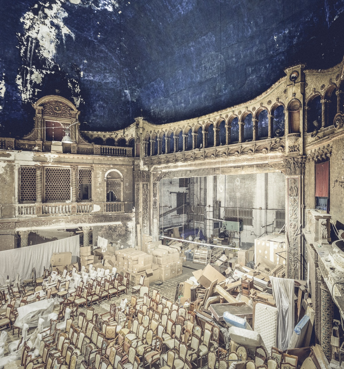 Inside The Loew's 46th St. Theater