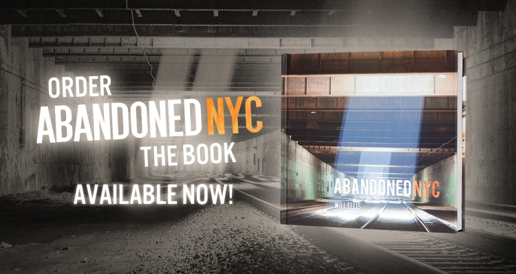 "Get a signed copy of Abandoned NYC, with a free 8x10"" print when you order through this link."