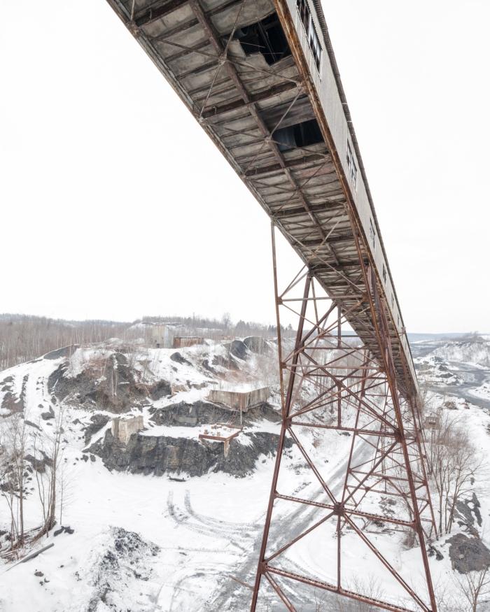 The conveyor, where raw coal began its journey through the breaker's machinery.