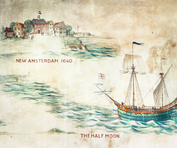 The Half Moon, a dutch vessel, founds New Netherland.